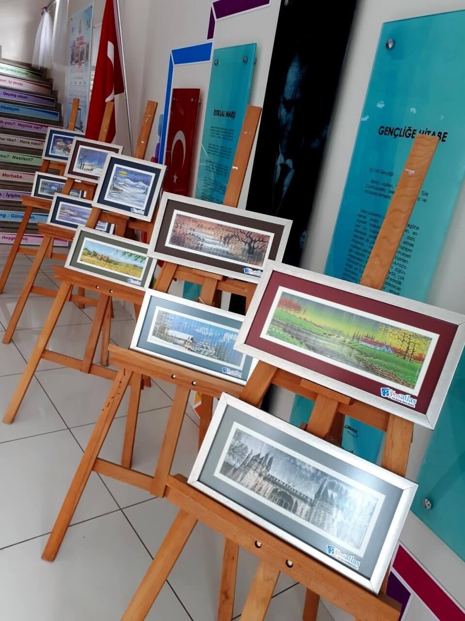 G.Sanatlar Kartpostal Birim Sergisi